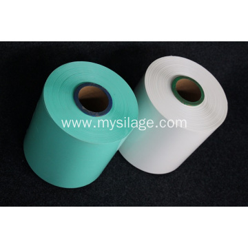 UV Stabilized Green Plastic silage Wrap 1800x250x25um
