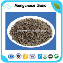 High MnO2 Content Water Filter Media Manganese Sand