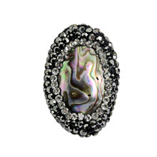 Fashion Abalone Shell Crystal Bead Accessory Jewelry Bracelet Bijoux