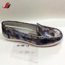 Lates Frauen Freizeit Leder Schuhe Casual Leder Schuhe (SF004)