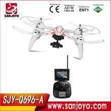 Wltoys Q696-A 2.4G 6-Axis Gyro 5.8G FPV 1080P HD Cámara RC Quadcopter Barómetro Set Altura RTF Drone RC Helicóptero SJY-Q696-A