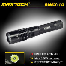 Maxtoch SN6X-10 Bettery 26650 Camping 3.7v Rechargeable LED Flashlight