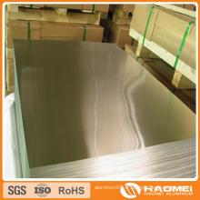 Feuille d'aluminium 3003 en alliage métallique fabriquée en Chine