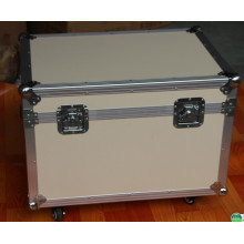 Flight Case with 4 PCS Wheels