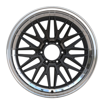 Aftermarket pick-up velg 20x9.5 zwarte lip gepolijst