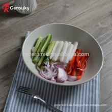 Werbe-benutzerdefinierte Keramik Gericht serviert Schüssel