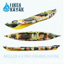 4.3m Einzelner PE Rotomould Kajak-Fischen-Angler 4.3 PRO Fischen-Kajak