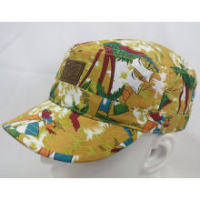 Fashion Flowery Sports Military Cap Woven Cap (MH-080065)