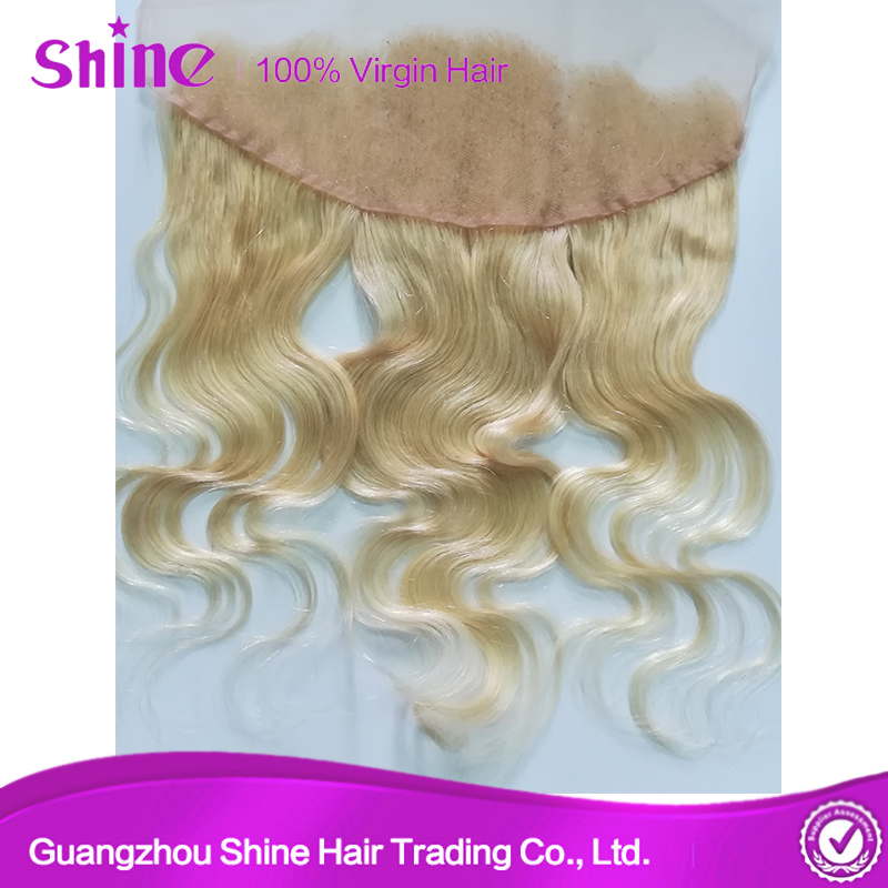 613 Bleach Blonde frontal Body Wave