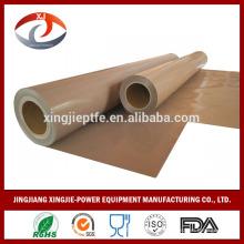 Tela de fibra de vidrio de PTFE / correa de sequía / correa de laminación