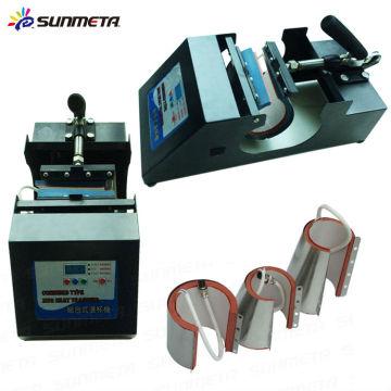 Neue 4 in 1 manuelle Becher Druckmaschine