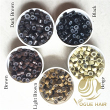 Micro Ring Silicone Beads for Hair Extensions