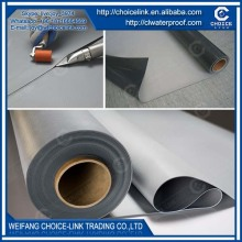 for underground 1mm exposed homogeneous PVC waterproof membrane