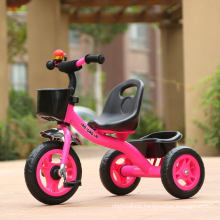 2017 High Quality Steel Frame Child Tricycle for Kids with EVA/Air Tyre