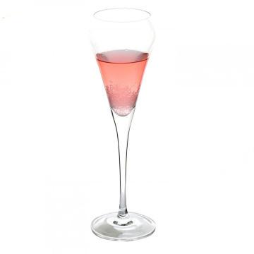 Kristallglas Champagner Toasten Flöten Gläser