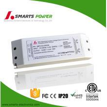Cubierta de plástico 110 v ac 12 v dc 30 w DALI oscurecimiento conductor led para luz de tira led