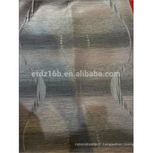 Nouveau tissu de rideau Jacquard à 100% polyester