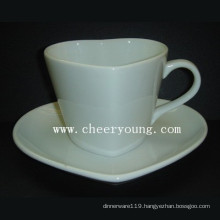 Ceramic Cup and Saucer (CY-P520)