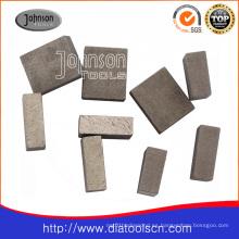 1600mm Segmento de diamante: segmento de corte de piedra