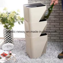 Stapelbarer neuer Design-Kunststoff-Staubbehälter