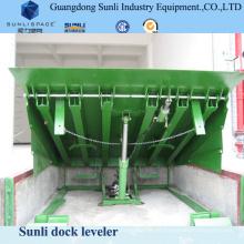 Elektrisches CER genehmigte Dock-Laden-Rampen-hydraulische Planiermaschine