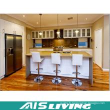 Placards de cuisine de prix d'usine avec des poignées pour l'appartement (AIS-K376)