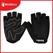 Boodun Racing Black Escalada Ginástica Fingerless Ciclismo Luvas