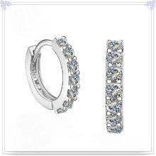 Кристалл серьги Модные аксессуары 925 серебро ювелирные украшения (SE039)