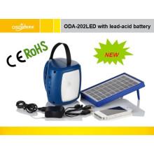 Lâmpada Solar com Bateria de Lítio