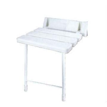 Ducha inflable ajustable silla de baño de asiento de acrílico con asiento adecuado