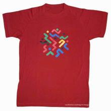 2015 Promocional Nuevo Estilo Algodón Camisetas