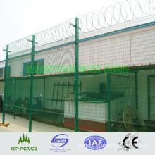 Valla de seguridad recubierta de PVC (HT-P-009)