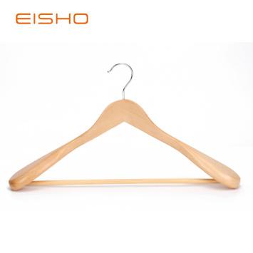 Luxury Wood Coat Hangers With Wide Shoulder EWH0091-93