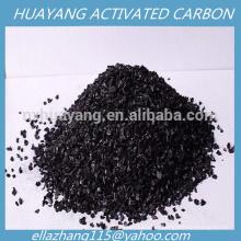 Carbón activado granulado del carbón de la cáscara de la nuez 4X8 para la purificación del gas