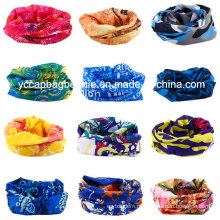 Мода Продвижение Высокая Stretch Бесшовные трубки Multi Buff Headwear Bandana