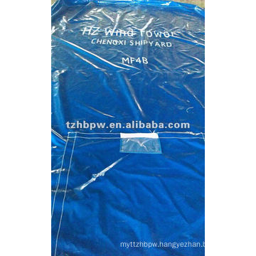 End Cover Tarp in Wind Tower