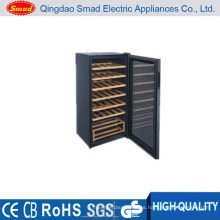 JC-128 estantes de madera casa refrigerador de vino tinto