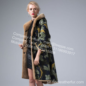 Mink Reversible Mink Women Coat In Winter