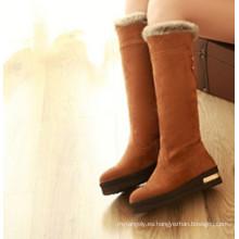 Botas de invierno de mujer marrón / Botas de nieve marrón / Botas de moda