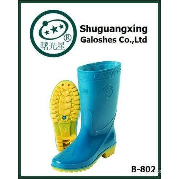 cheep durable women's pvc rainboot