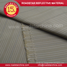 High visibility polyester reflective fabric for clothing
