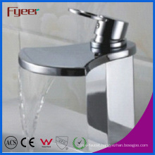 Fyeer Big Spout Bathroom Waterfall Basin Mixer Tap (Q3005)