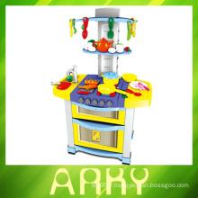 Enfants Lovely Pink Girl Toys Ensemble de jeux de cuisine en plastique