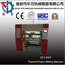 Máquina de corte de rollos de papel ATM con Tuck-in automático