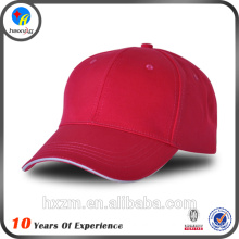 100% cotton blank cap without logo