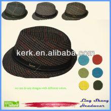 Sombreros de algodón 100% para la promoción Sombrero de moda de la caza del interior del sombrero casquillos de vaquero resistidos al aire libre del sombrero del algodón de los muchachos del 100%, RH-10