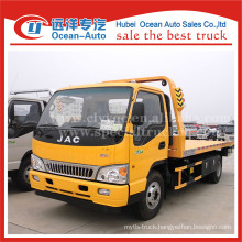 JAC Euro 4 tow truck 3ton lift weight road wrecker tow trucks