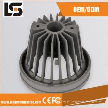 10W COB Cinza Cor Alumínio Dimmable Warm LED Downlight Housing