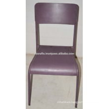 Industrial Metal Hospitality Chair