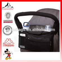Saco novo do organizador dos sacos do bebê com o organizador universal do carrinho de criança dos bolsos da malha (ES-H497)